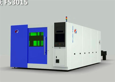 High Efficiency CNC Laser Cutting Machine for Stainless Steel , 2000W Power