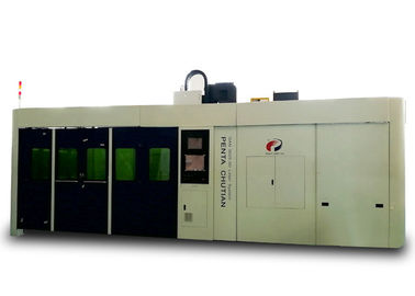 Energy Saving CNC Laser Cutting Machine for Stainless Steel , 3000W Power